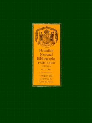 Hawaiian National Bibliography, 1780-1900 (Hardback)