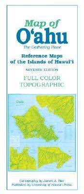 Reference Maps of the Islands of Hawaii: Map of Oahu (Sheet map, folded)