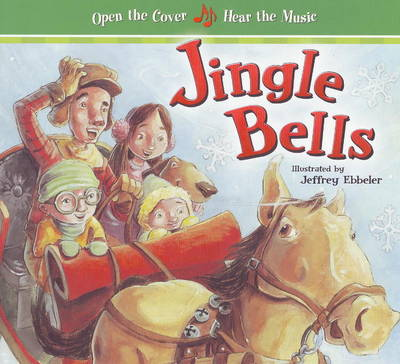 Jingle Bells: Large Format with Music (Board book)