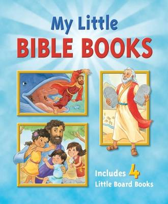 My Little Bible Books Boxed Set (Board book)