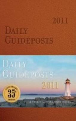 Daily Guideposts 2011 (Leather / fine binding)