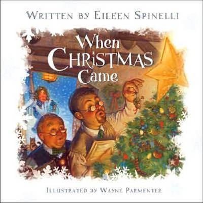 When Christmas Came (Board book)