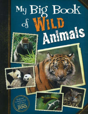 My Big Book of Wild Animals (Paperback)