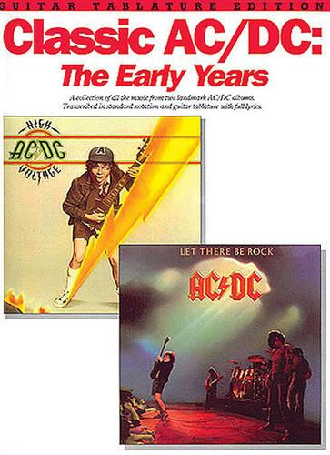 Classic Ac-Dc: The Early Years (Paperback)