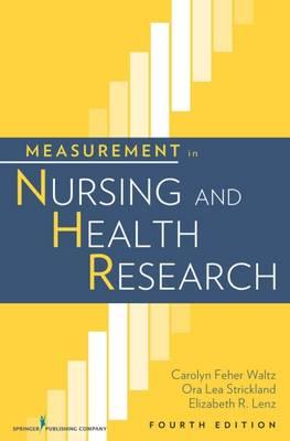 Measurement in Nursing and Health Research (Hardback)