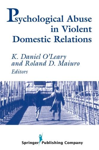 Psychological Abuse in Violent Domestic Relations (Paperback)