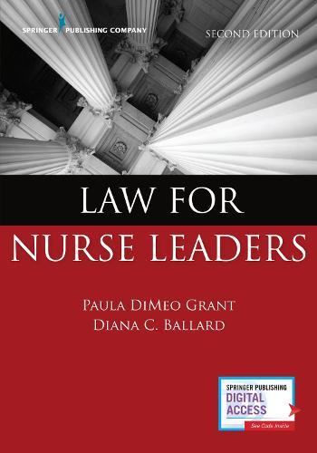 Law for Nurse Leaders (Paperback)