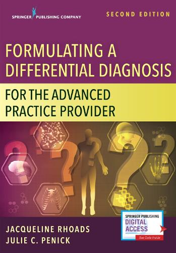 Cover Formulating a Differential Diagnosis for the Advanced Practice Nurse