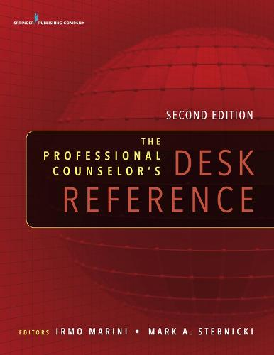 The Professional Counselor's Desk Reference (Paperback)