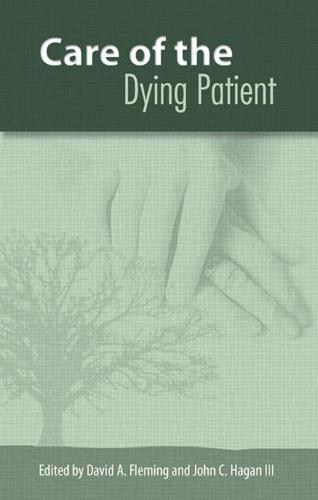The Care of the Dying Patient (Hardback)