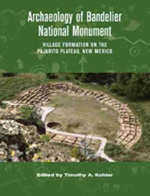 Archaeology of Bandelier National Monument: Village Formation on the Pajarito Plateau, New Mexico (Hardback)