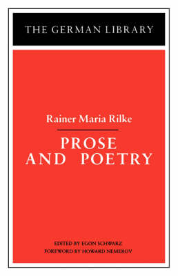 Prose and Poetry - German Library S. (Paperback)