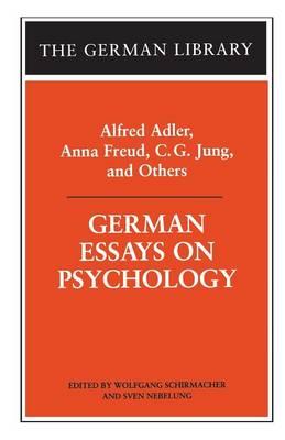 German Essays on Psychology (Paperback)