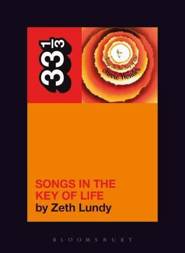 Stevie Wonder's Songs in the Key of Life - 33 1/3 (Paperback)