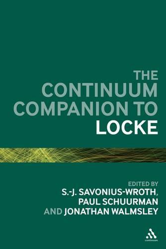 Continuum Companion to Locke - Continuum Companions (Hardback)