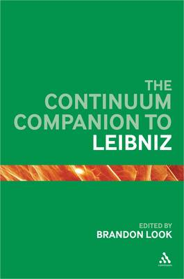 The Continuum Companion to Leibniz - Continuum Companions (Hardback)
