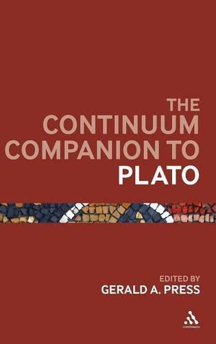 The Continuum Companion to Plato - Continuum Companions (Hardback)