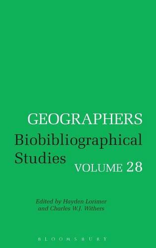Geographers: v. 28 (Hardback)
