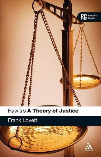 """Rawls's """"A Theory of Justice"""": A Reader's Guide - Reader's Guides (Paperback)"""