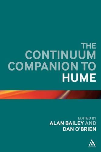 The Continuum Companion to Hume - Continuum Companions (Hardback)