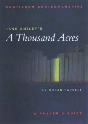 "Jane Smiley's ""A Thousand Acres"" - Continuum Contemporaries Series (Paperback)"