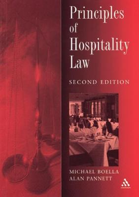 Principles of Hospitality Law (Paperback)