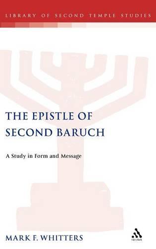 Epistle of Second Baruch (78-87) (Hardback)