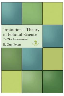 Institutional Theory in Political Science (Paperback)