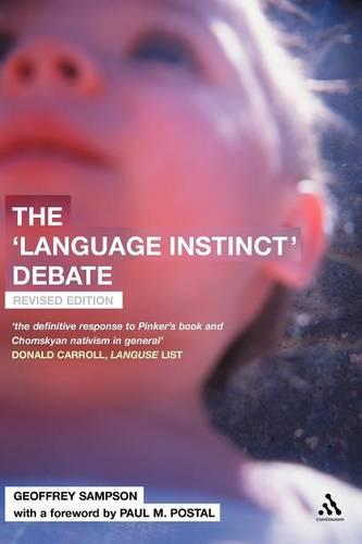 The Language Instinct Debate (Paperback)