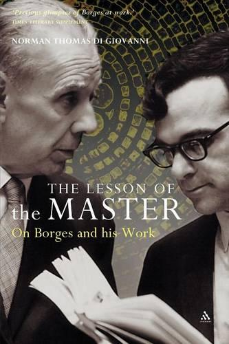 The Lesson of the Master: On Borges and His Work (Paperback)