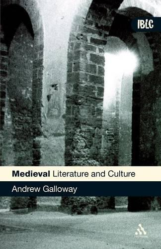 Medieval Literature and Culture - Introductions to British Literature and Culture S. (Paperback)