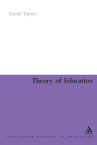 Theory of Education (Paperback)