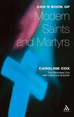 Cox's Book of Modern Saints and Martyrs (Paperback)