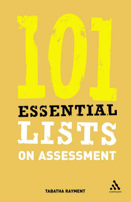 101 Essential Lists on Assessment - Essential Lists S. (Paperback)
