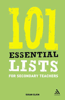 101 Essential Lists for Secondary Teachers - 101 Essential Lists (Paperback)