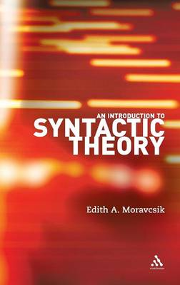 An Introduction to Syntactic Theory (Hardback)
