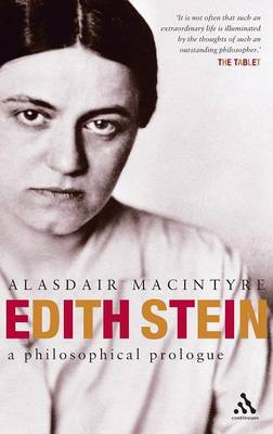 Edith Stein: The Origin and Development of Her Thought (Hardback)