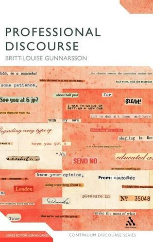Professional Discourse - Continuum Discourse (Hardback)