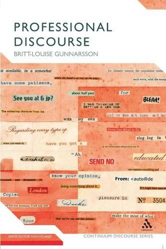 Professional Discourse - Continuum Discourse (Paperback)