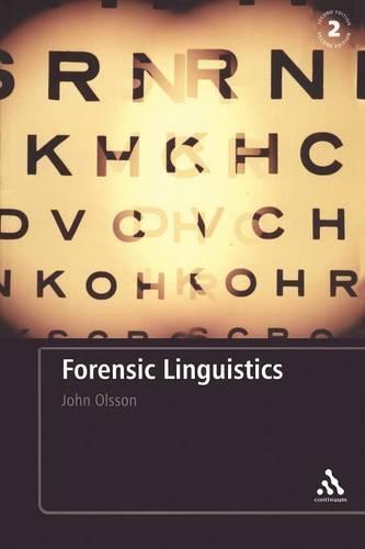 Forensic Linguistics (Paperback)