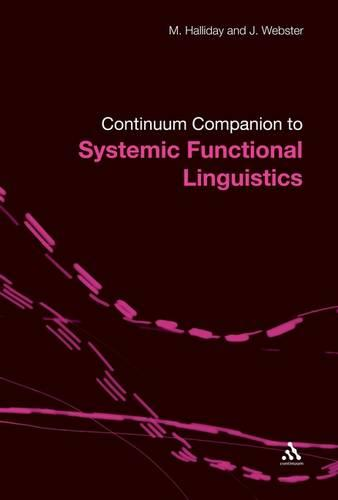 Continuum Companion to Systemic Functional Linguistics (Paperback)