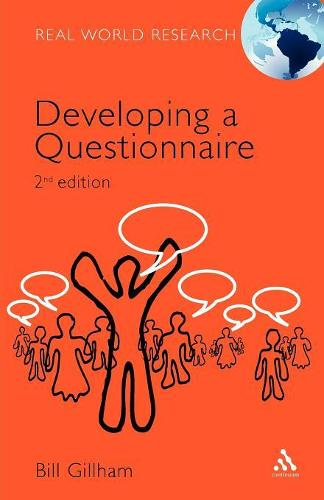 Developing a Questionnaire - Real World Research S. (Paperback)