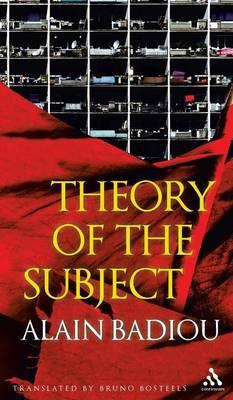 Theory of the Subject (Hardback)