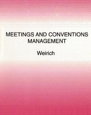 Meeting and Conventions Management (Paperback)
