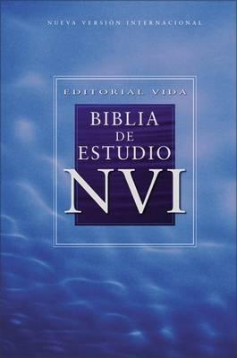 NVI Biblia De Estudio, Piel Especial, Negro, Con Indice (Leather / fine binding)
