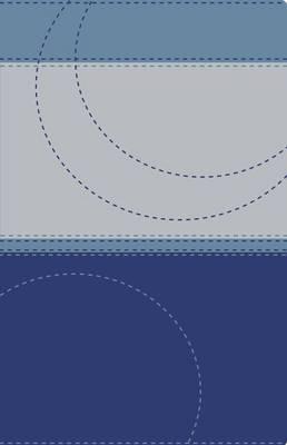 NVI Santa Biblia, Ultrafina, Dos Tonos, Azul/azul (Leather / fine binding)