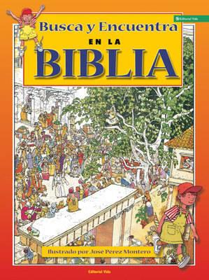 Busca Y Encuentra En La Biblia (Hardback)