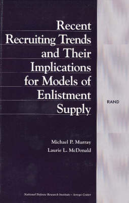 Recent Recruiting Trends and Their Implications for Models of Enlistment Supply (Paperback)