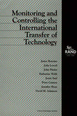 Monitoring and Controlling the International Transfer of Technology (Paperback)