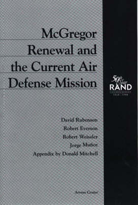 McGregor Renewal and the Current Air Defense Mission (Paperback)